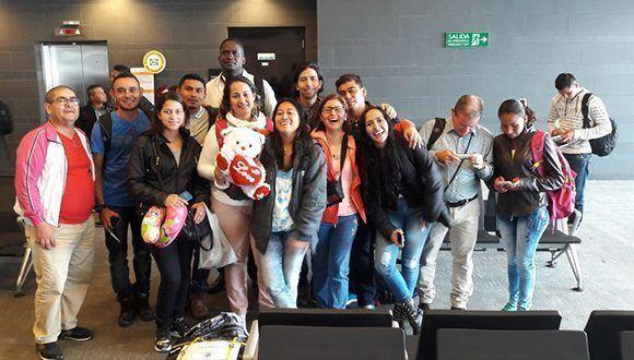 becarios-colombianos-llegan-a-cuba