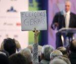 Los gritos de desaprobación se produjeron poco después que el gobernante defendiera en su discurso las reformas políticas y del sistema de pensiones. Foto: Agência O Globo.