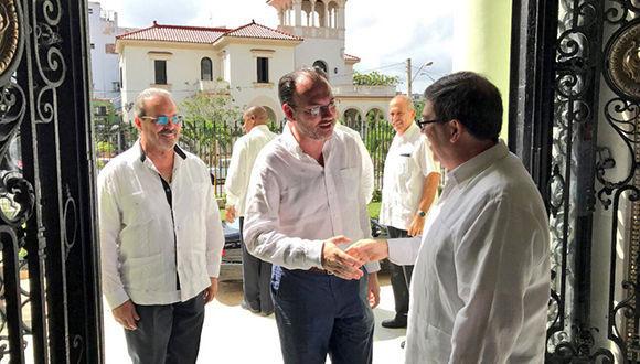 Acuerdan México y Cuba fortalecer el comercio e inversión. Foto: @SRE_mx