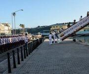 Arribo del Buque Escuela Guayas de la armada de la República del Ecuador, al Puerto de La Habana. Foto: Marcelino Vázquez/ ACN.