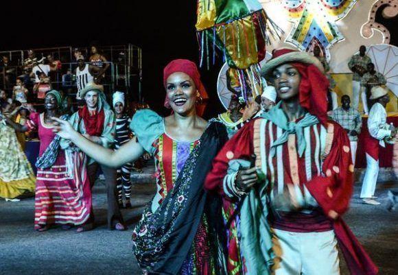 Carnaval Habanero. Foto: Marcelino Vázquez Hernández / ACN