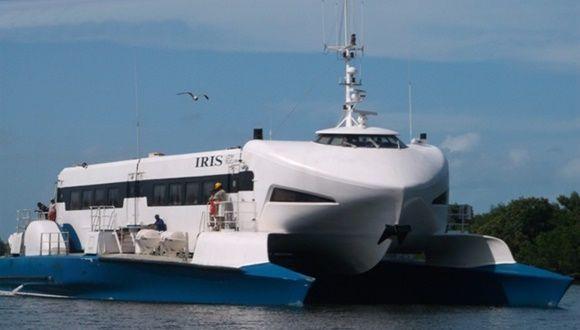 Transportación entre Batabanó y la Isla de la Juventud.