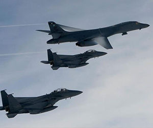 cazabombarderos-surcoreanos-junto-con-un-bombardero-nuclear-b-1b-lancer-de-estados-unidos