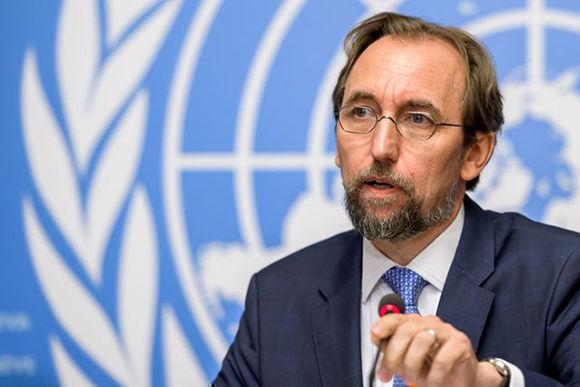 La libertad de prensa y la integridad de los periodistas peligran en EU, alertó el Alto Comisionado de la ONU para los Derechos Humanos, Zeid Ra'ad Al Hussein. Foto: AFP.