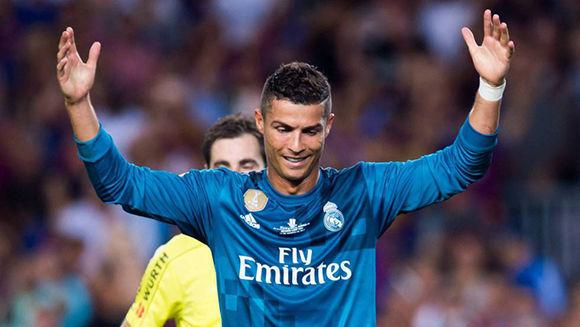 Cristiano Ronaldo tras ser expulsado ante el Barcelona. Foto: Getty Images.