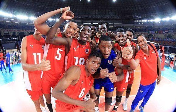 Cuba derrota a México y avanza a semifinal del mundial sub-23 de voleibol