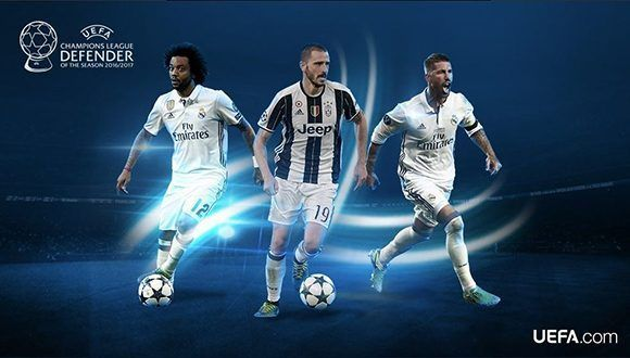 ¿Marcelo, Bonucci o Ramos? Foto: UEFA.