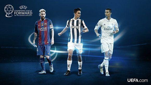¿Messi, Dybala o Cristiano? Foto: UEFA.