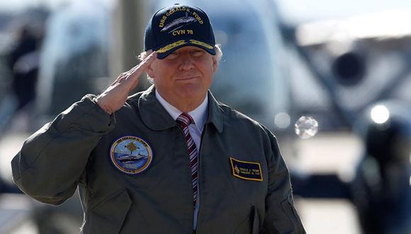 Donald Trump ha realizado amenzas miliatres contra Venezuela y Corea del Norte. Foto: Reuters.