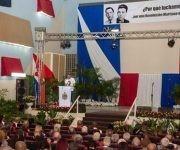Acto político cultural por los sesenta años del asesinato de los Hermanos Saíz, en San Juan y Martínez, Pinar del Río, Cuba, el 13 de agosto de 2017. Foto: Rafael Fernández/ ACN.