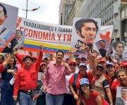 El pueblo venezolano sale a las calles en apoyo a la Constituyente. Foto: @RamonLoboPSUV/ Twitter.