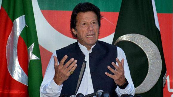 Imran Khan. Foto: AP.