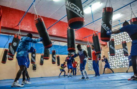 Inauguración del Gimnasio de Boxeo para la Escuela Superior de Atletas de Alto Rendimiento (ESFA), en el estadio Panamericano, en La Habana, el 8 de agosto de 2017. Foto: Marcelino Vazquez Hernandez / ACN