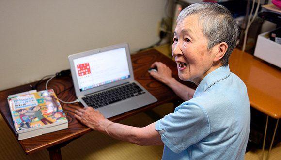 Anciana japonesa crea aplicaciones para iPhone
