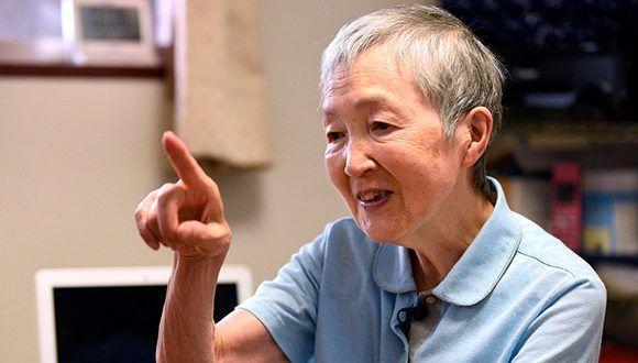 La japonesa Masako Wakamiya. Foto: AFP