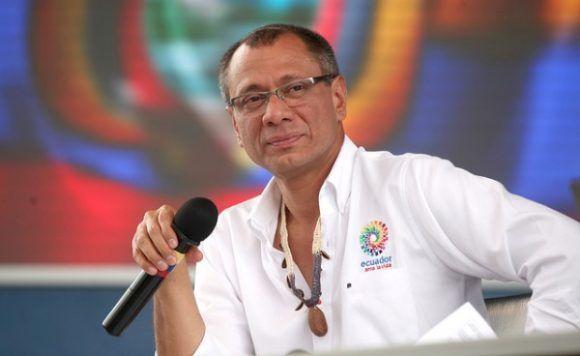 Vicpresidente ecuatoriano. Foto: Periódico expectativa.