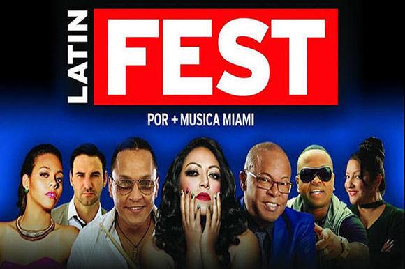 El Latin Fest, que se celebrará el 5 de agosto a las 7:30 p.m. en el Watsco Center de la Universidad de Miami, en Coral Gables.