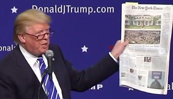 La presidencia de Trump es 'fallida': NYT