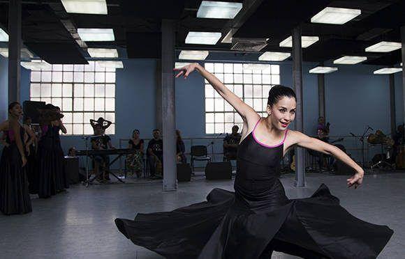 Integrante del Ballet Liz Alfonso Dance Cuba. Foto: Irene Pérez/ Cubadebate.