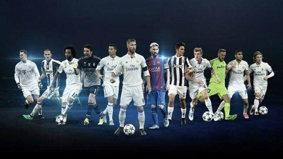 La UEFA publicó los candidatos a los premios de la Champions League. Foto: UEFA.