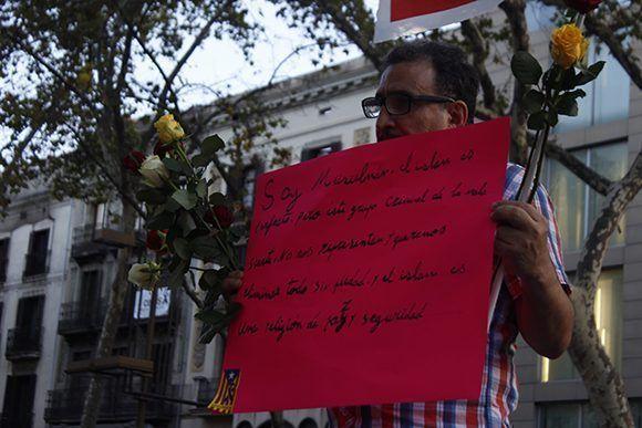 Fue una manifestación también contra la islamofobia. Foto: Jennifer Veliz/ Cubadebate.