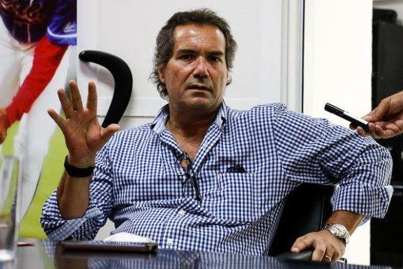 Neven Ilic Álvarez, presidente de la Organización Deportiva Panamericana, durante su visita a Cuba. Foto: Calixto N. Llanes.