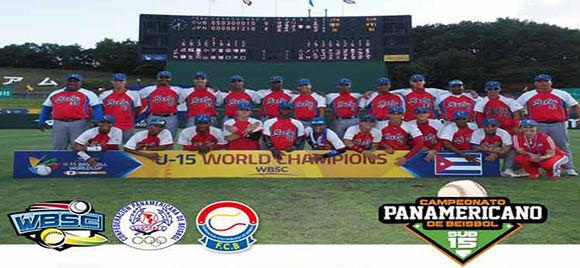 Cuba continuó su cadena de victorias en el III Campeonato Panamericano de Béisbol de la categoría Sub-15. Foto: Prensa Latina.