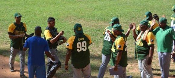 Pinar del Río consolida liderato en campeonato cubano de béisbol. Foto: ACN.