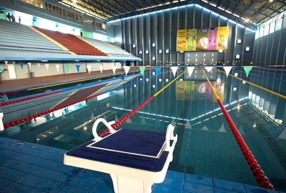 El complejo de piscinas Baraguá vuelve a la vida. Foto: Ismael Francisco/ Cubadebate.