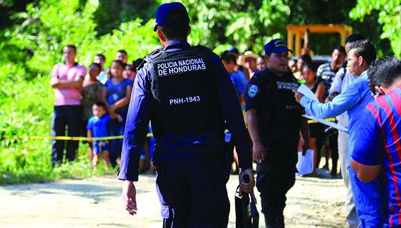 Huelga policial agrava la crisis política en Honduras