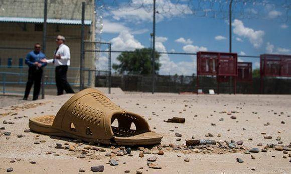 La cárcel creada por Arpaio era la única en Estados Unidos donde las mujeres trabajaban encadenadas. Foto: Nick Oza/ The Guardian.