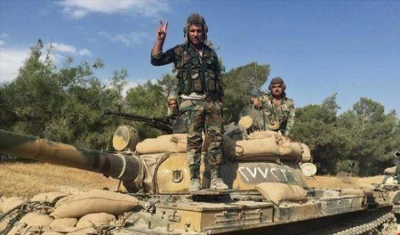 Fuerzas sirias liberan de terroristas extensas zonas