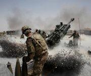 """Estados Unidos entró a Afganistán para """"expulsar al Talibán del poder"""" poco después del 11-S. En la imagen, de 2011, la artillería en Kandahar. Foto: Reuters."""