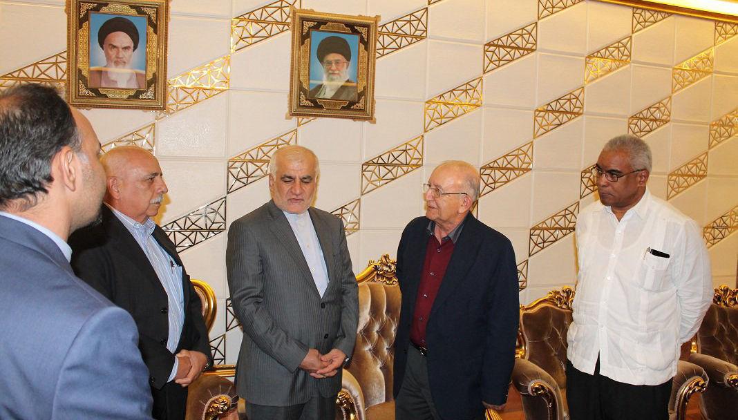 Ulises Rosales del Toro arribó a Teherán para asistir a toma de posesión del Dr. Hassan Rouhani. Foto: @VergaraBuenoA