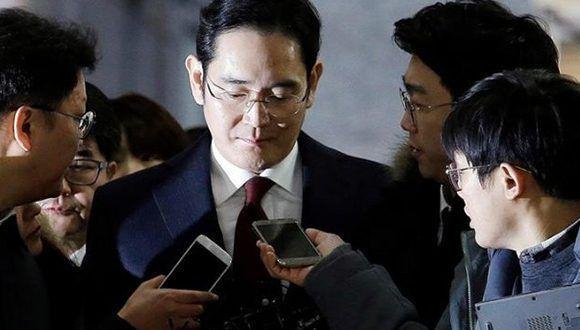 Piden 12 años de prisión para el heredero de Samsung