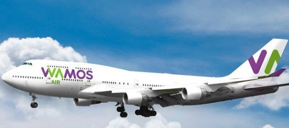 Wamos Air inaugura su primer vuelo Madrid-La Haban en septiembre próximo. Foto: wamosair.com