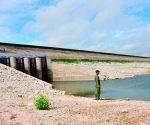 La presa Zaza que estaba en estas condiciones incrementó 13 millones de metros cúbicos para un total de 191 millones. Foto: Archivo.