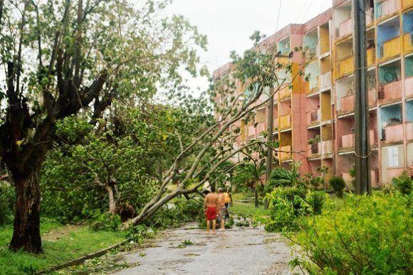 El huracán Irma afectó seriamente a Santa Clara. Foto: Rafael Cardet/ Cubadebate.