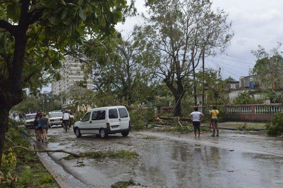 Graves daños en Villa Clara tras paso de Irma. Foto: Rafael Cardet/ Cubadebate.