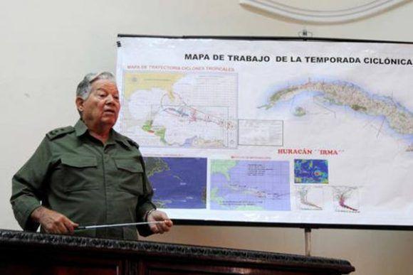 Defensa Civil de Cuba movilizada ante amenaza de huracán Irma