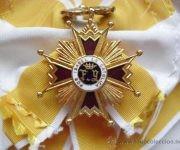 Gran Medalla de la Orden Isabel La Cátolica. Foto: Tomada de todocolección.com.