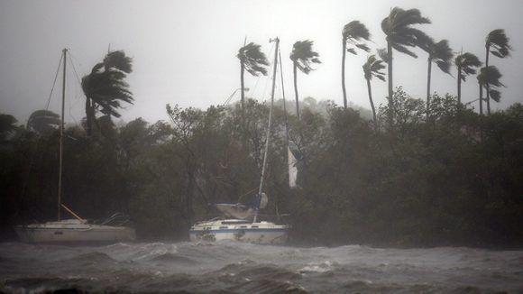 Irma en la Florida. Foto tomada de Russia Today.