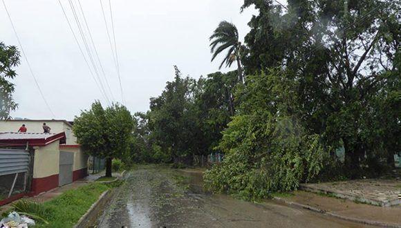 Camagüey después del paso de Irma. Foto: Miguel Febles Hernández