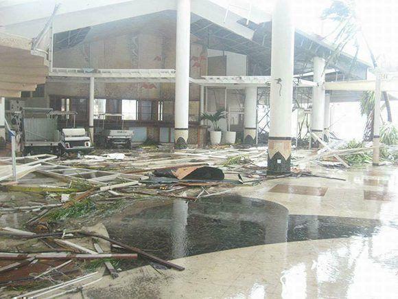 Hotel en Cayo Coco. Foto tomada de Facebook.