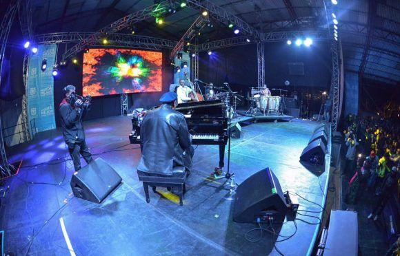 Chucho Valdés en Festival de Jazz en Colombia 2017. Foto: Juan Santacruz \Idartes (Tomada del sitio de Facebook del evento)
