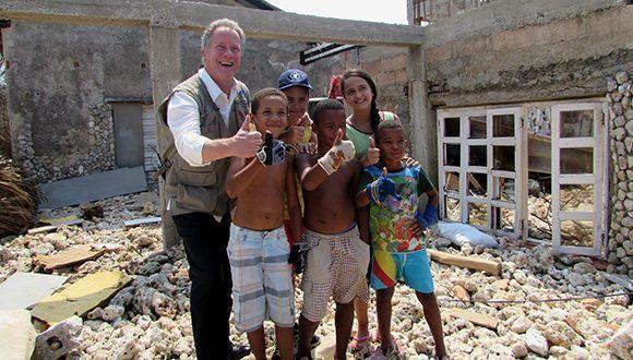 PMA presenta en Cuba asistencia alimentaria para afectados por Irma