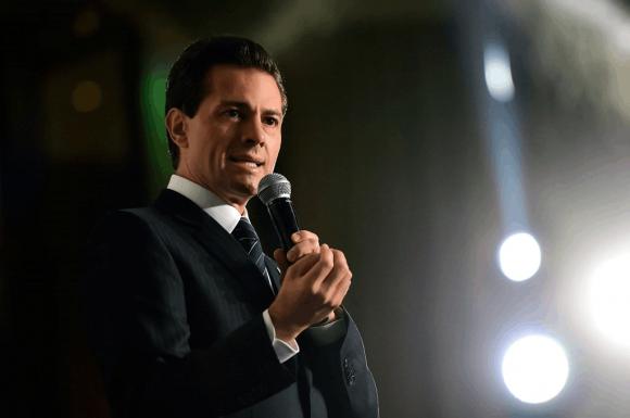 El mandatario mexicano,  Enrique Peña Nieto. Foto tomada de TKM.