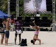 Festividades por el cierre del verano en la playa El Mégano, al este de La Habana, Cuba. Foto: ACN/ Oriol de la Cruz Atencio.