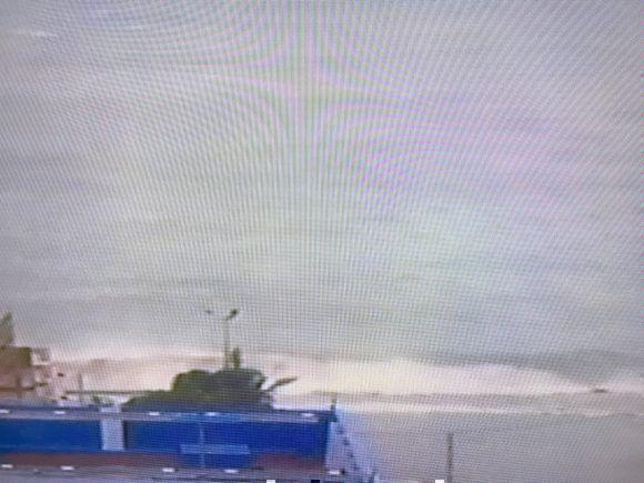 El Malecón habanero a esta hora. Foto: Cubadebate