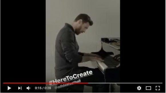 Video de Messi tocando piano se vuelve viral (+Video)